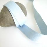 Sangle coton bleu ciel