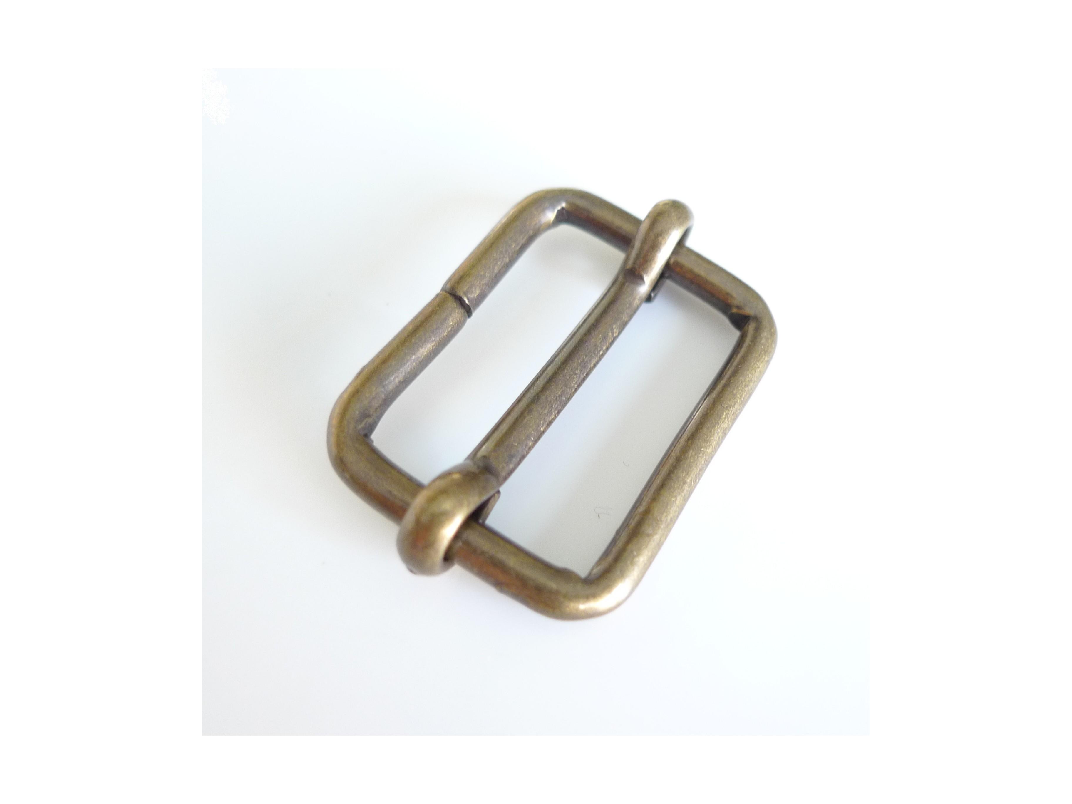 1ddc12880f18 Boucle coulissante bronze 30 mm - Mercerie