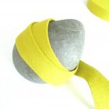 Sangle coton jaune