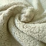 Fourrure mouton beige