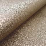Simili cuir glitter bronze