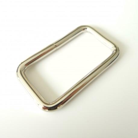 Rectangle 40 mm nickel