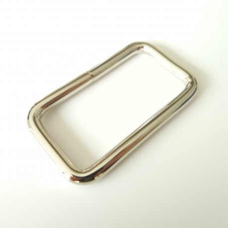 Rectangle 40 mm nickel