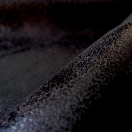 Simili cuir vieilli noir