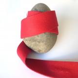 Sangle coton rouge