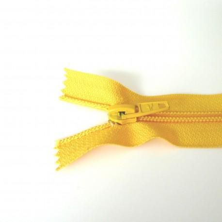 Zip grosse spirale jaune