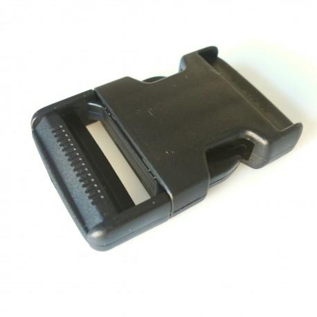 Boucle clip noir 40 mm