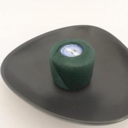 Coton à repriser vert émeraude