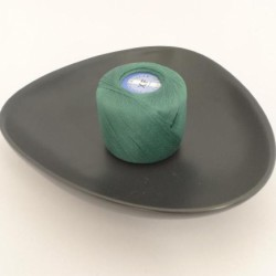 Coton à repriser vert anglais