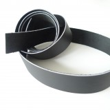 Lanière  lisse cuir noir