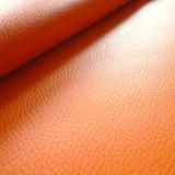 Simili cuir Karia orange
