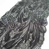 Dentelle couture noire