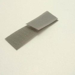 Velcro anthracite 20 mm