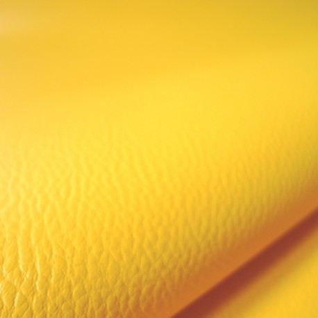 Simili cuir Karia jaune
