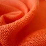 Toile de jute orange