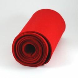 Feutre de laine rouge