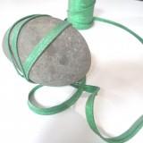 Passepoil lurex vert