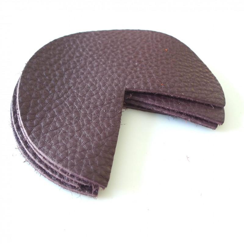 coins de sacs cuir aubergine cousez vos sacs. Black Bedroom Furniture Sets. Home Design Ideas