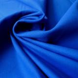 Tissu toile canevas bleu roi