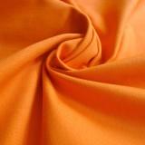 Tissu toile canevas orange