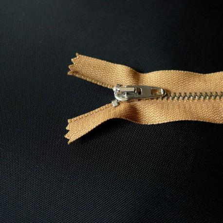 Fermeture à glissière métal camel