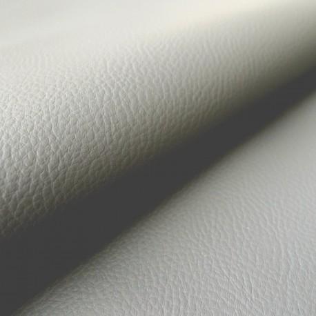 Simili cuir Karia gris perle