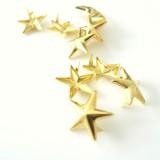 Clous étoile Or