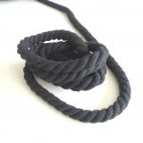Cordon max coton noir