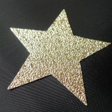 Etoile simili glitter or